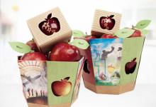 Pommes Marquées - Paniers adolescents de 6 et 12 pommes